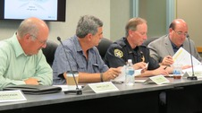 Public Safety Coordinating Council members at meeting
