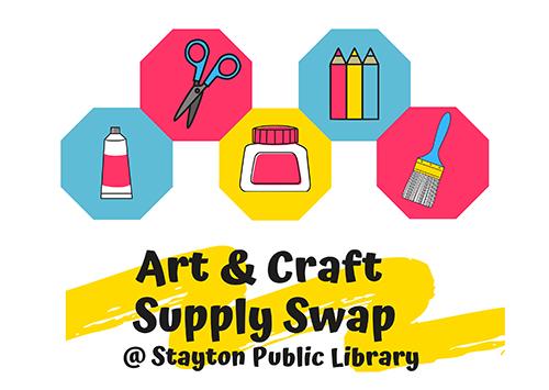 Art & Craft Supply Swap