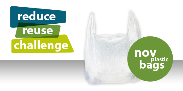 Reduce Reuse Challenge Plastic Bags