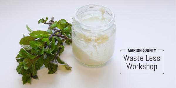 Waste Less Workshop DIY Toothpaste
