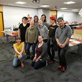 Art & Craft Swap Volunteers