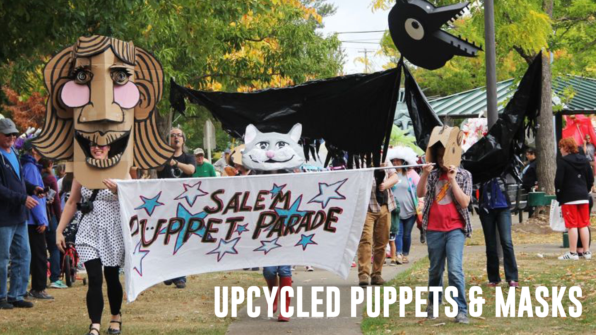 Upcycled Puppets and Masks Workshop