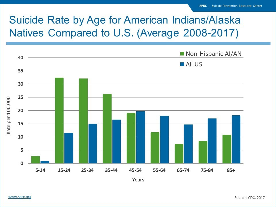 Suicide Rate by Age