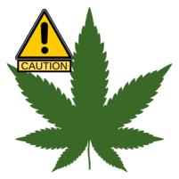 Caution Marijuana Image