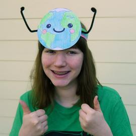 Make an Earth Day Hat