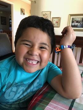 Cesar in kindergarten prep