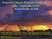 October 2020 verification scenery photo