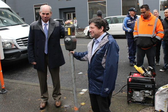 the last parking meter