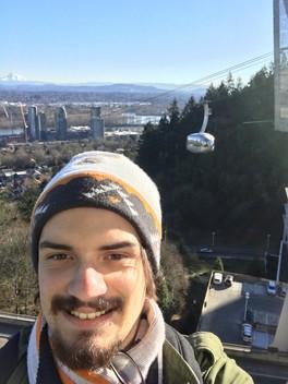 Tram selfie