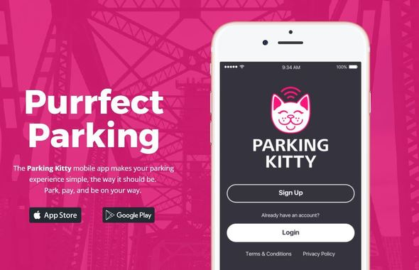 parking kitty website