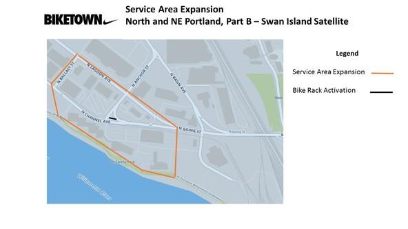 BIKETOWN Expansion N/NE Portland Part B