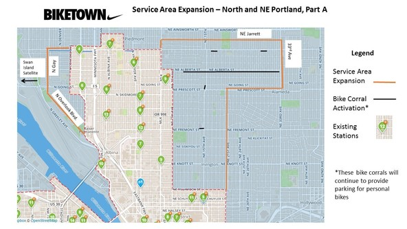 BIKETOWN N/NE Expansion Part A