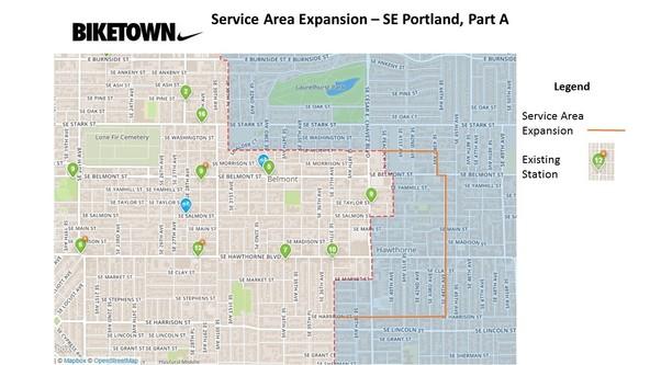 BIKETOWN Expansion SE Portland Part A