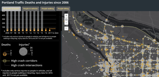 Vision Zero Revised Crash Map Has New Data Features