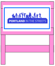 PBOT Pink Barricade