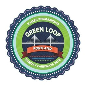 Sunday Parkways Green Loop decal