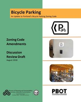 Bike Parking Code Update Discussion Draft Cover