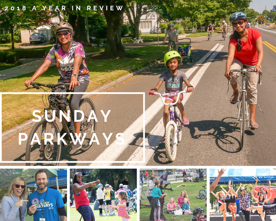 Sunday Parkways A Year in Review