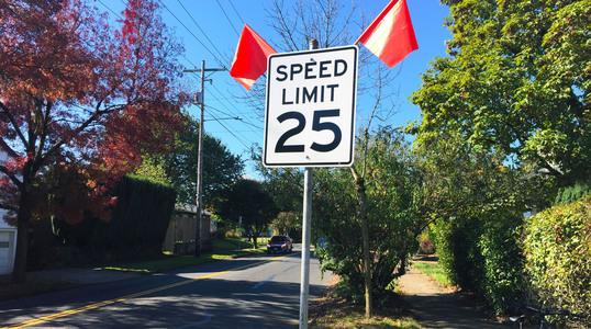 Prescott speed limit