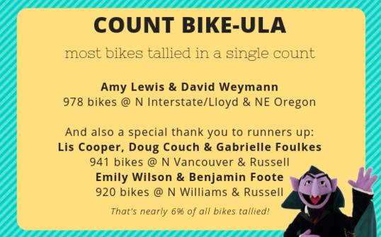 One bike, two bikes...