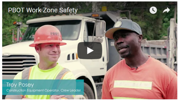 Work Zone Safety video screenshot
