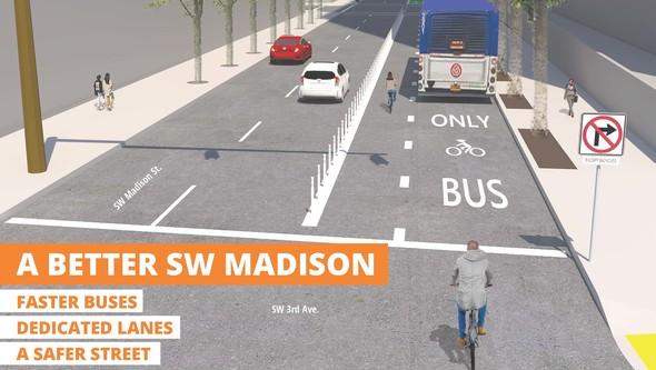 SW Madison Postcar