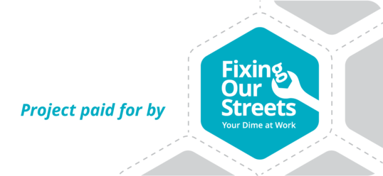 Fixing Our Streets Banner