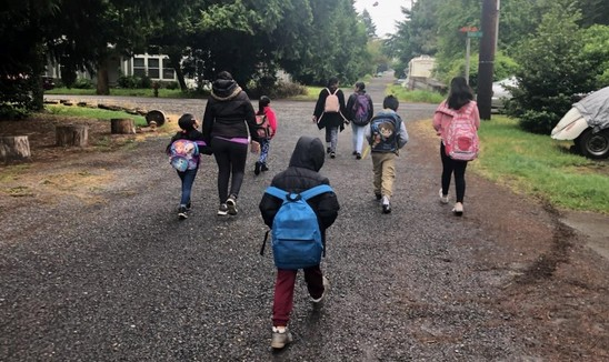 Scott Elementary Walking School Bus