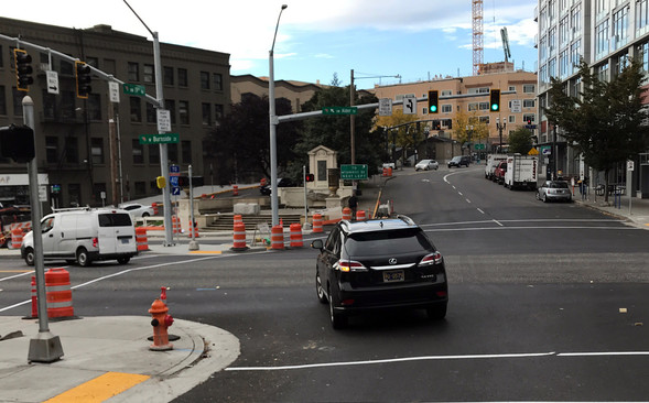 new signals activated on W Burnside