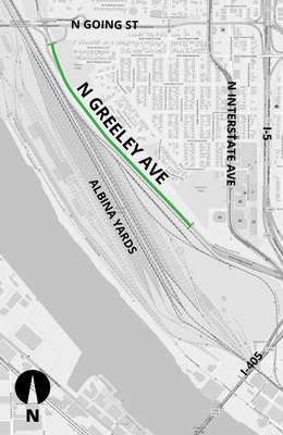 Greeley project map