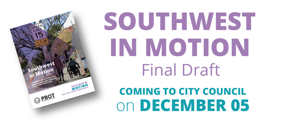Southwest in Motion to City Council December 05