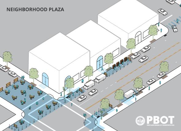 Neighborhood Plaza