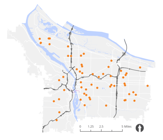 20 mph evaluation sites