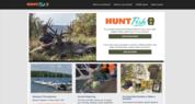 HuntFishPA Home Screen