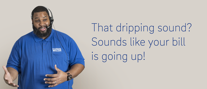 That dripping sound? Sounds like your bill is going up! V2