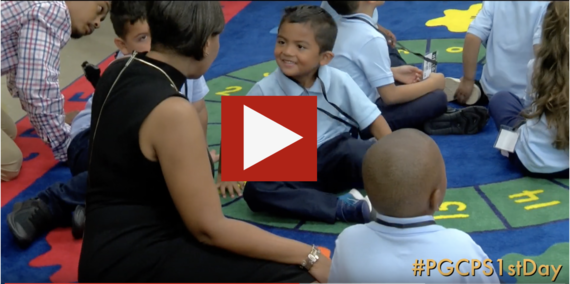 Youtube PGCPS1st Day Video