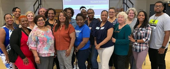 special ed and student services staff