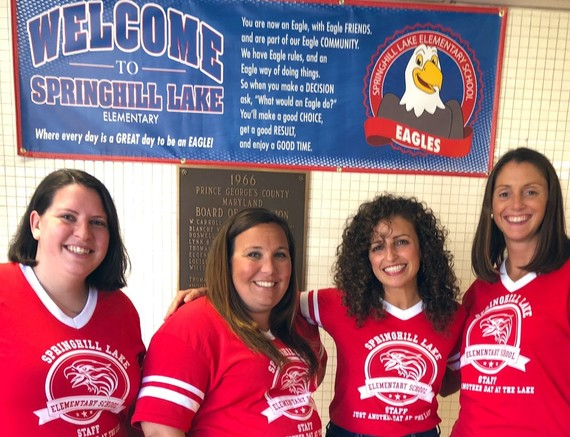 Back to School Team at Springhill Lake