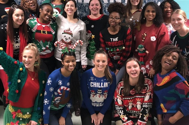 staff ugly sweater 2019