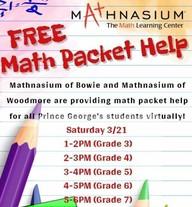 mathnasium tutor packets