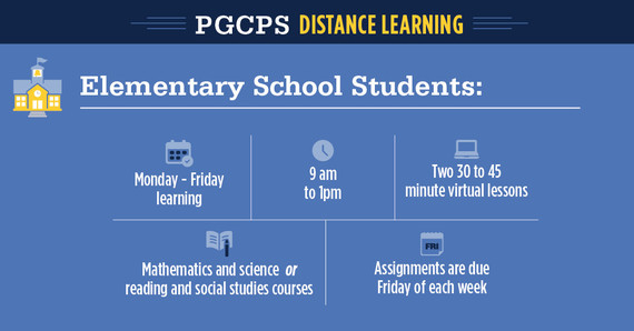 ES distance learning schedule
