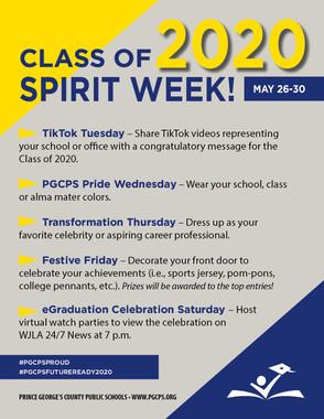 senior spirit week 2020