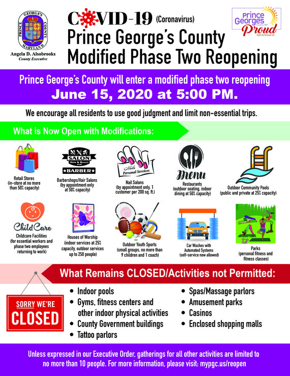 phase two reopening