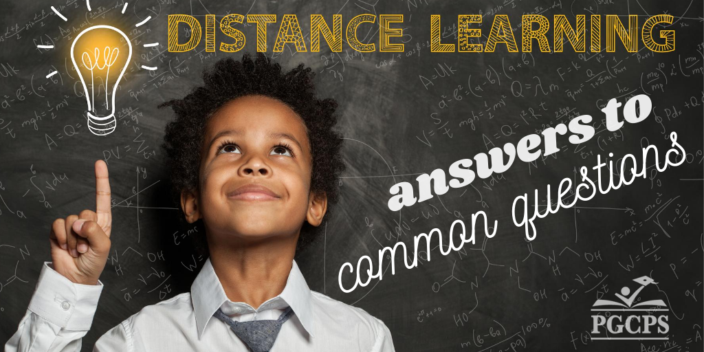 Answers to common questions, distance learning feature