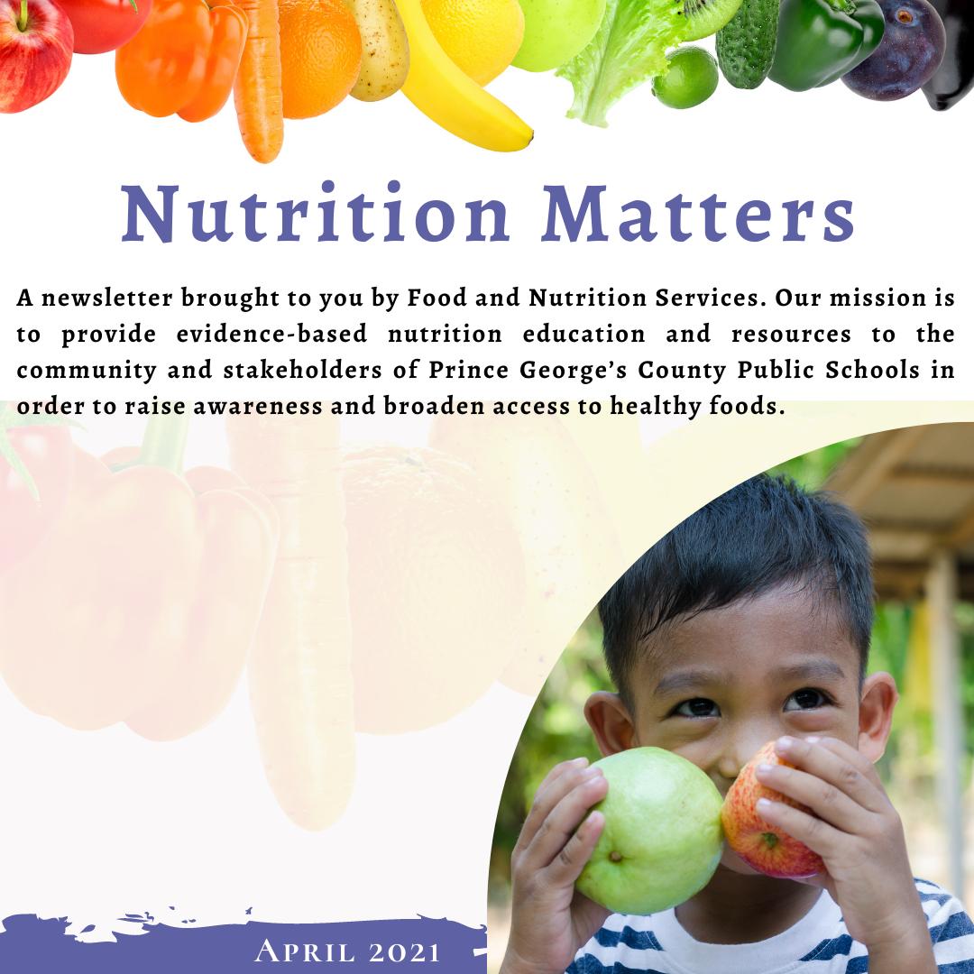Nutrition Matters - April 2021