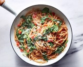 spinach pasta picture