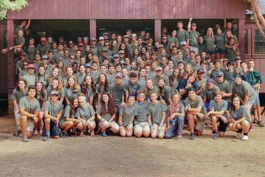 Campers at Camp Wildwood