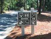 Signage at Chaplin Park