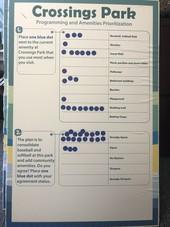 Crossings Park voting poster