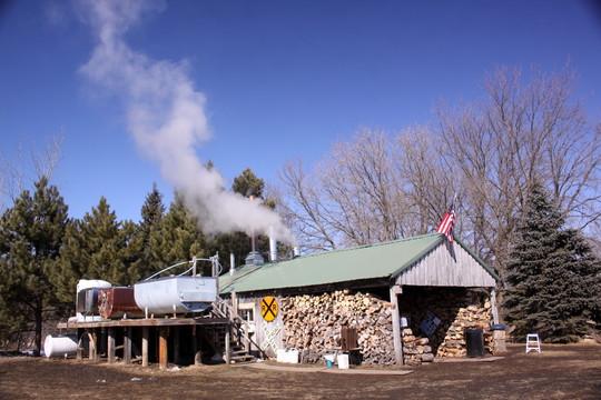 Sugar Shack at Kraemer Lake - Wildwood County Park
